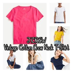 NWT Vantage Cotton Crewneck T-Shirt